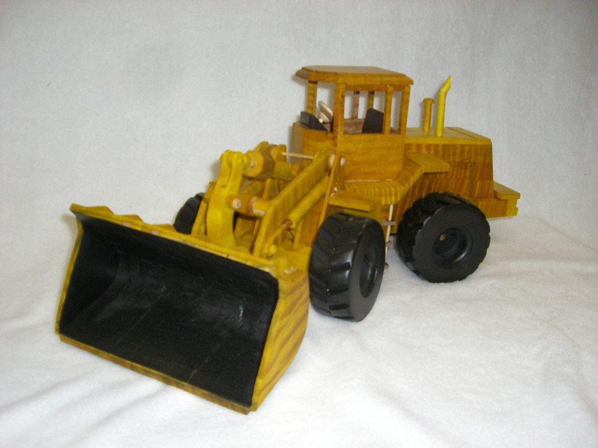 Toys And Joys : Toys and joys front end loader finewoodworking