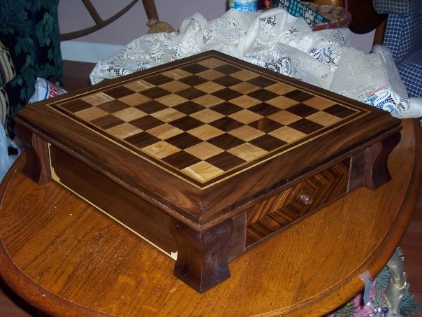 Chess Set - FineWoodworking