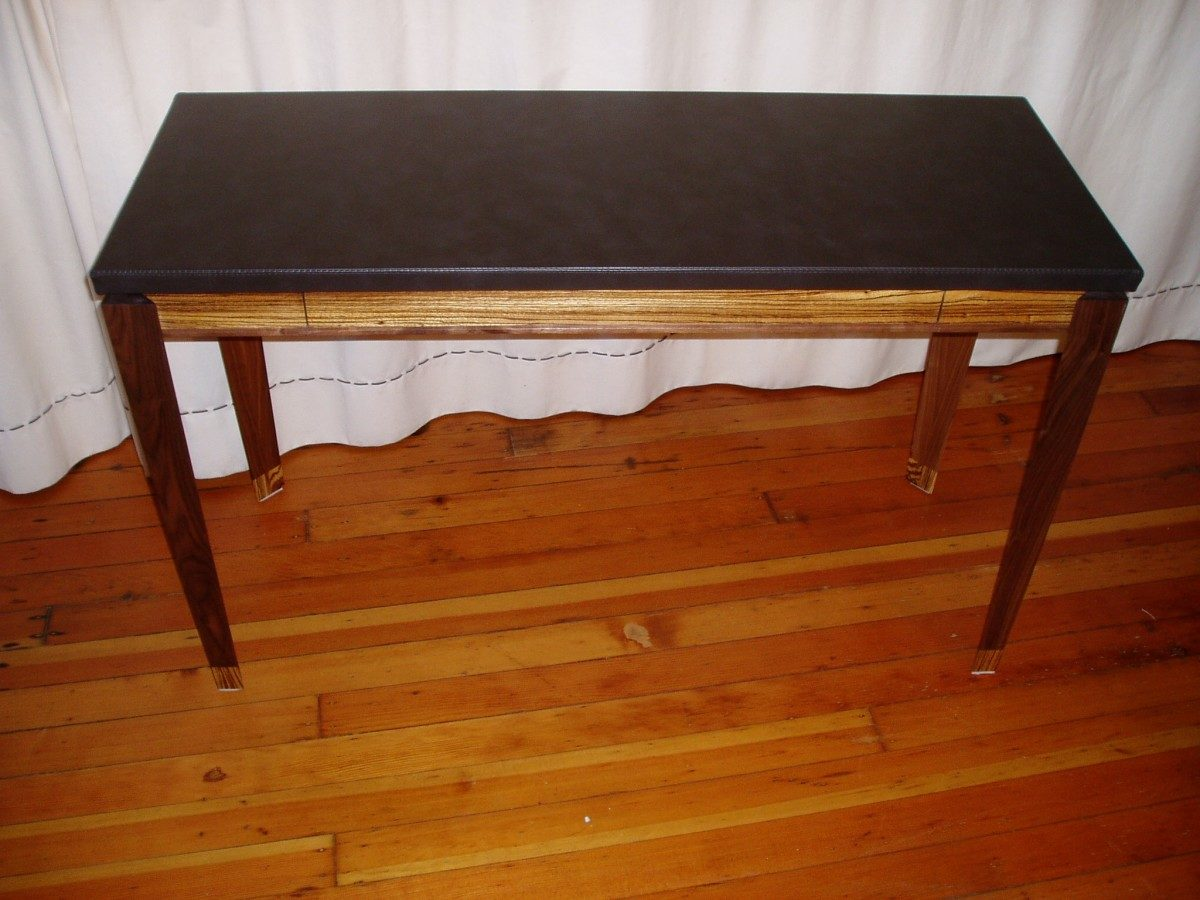 Lastest Serpentine Bow Front Writing Desk  FineWoodworking