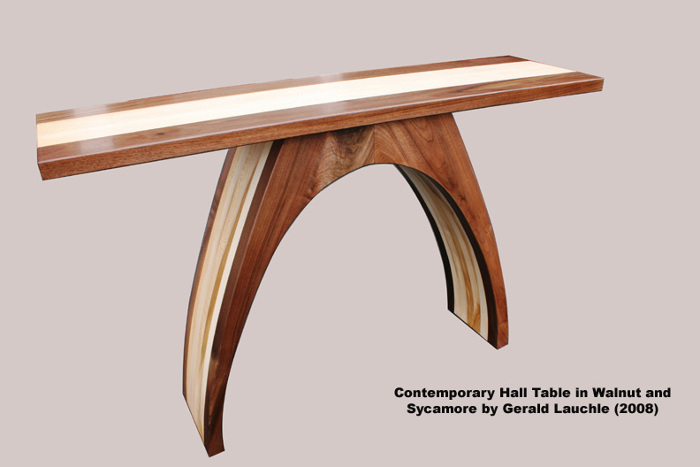 Contemporary Hall Table - FineWoodworking