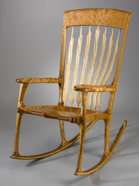 This Is An Example Of The Pennsylvania Rocking Chair My Name For It I Have Been Building Since 2002 Learned How To Build From Hal Taylor