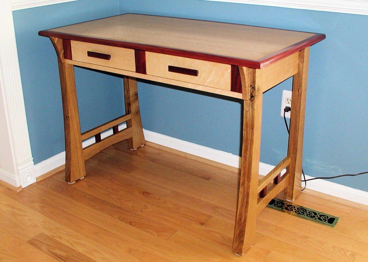 Creative StandUp Desk  FineWoodworking