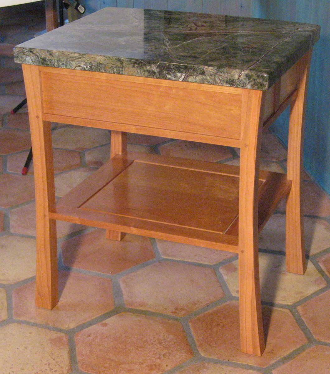 cherry night stands - FineWoodworking