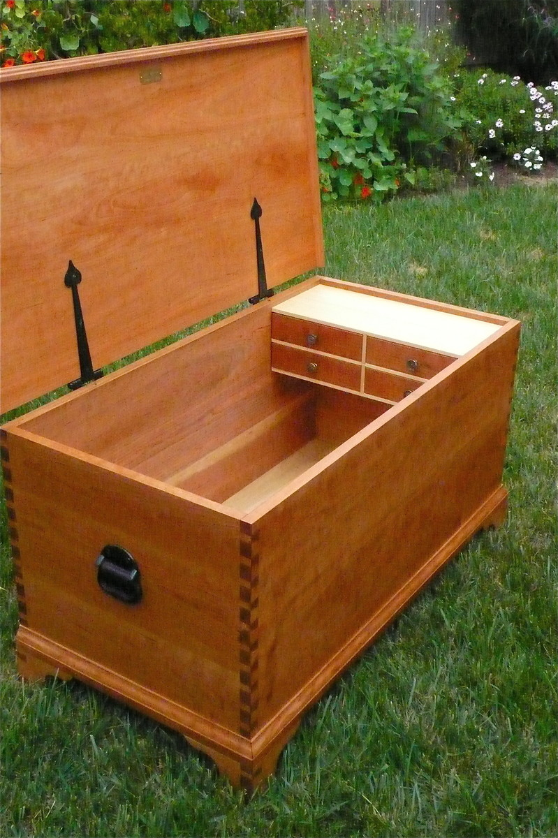 Wooden Hope Chest ~ Hope chest finewoodworking