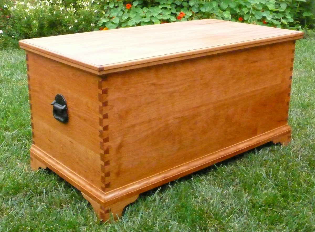 Hope Chests Wooden Handcrafted ~ Hope chest finewoodworking