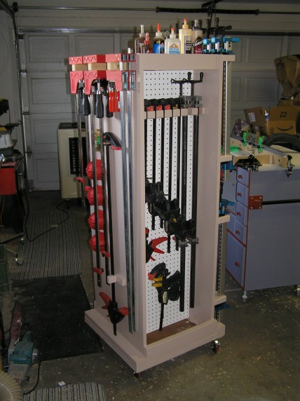 Mobile Clamp Rack - FineWoodworking