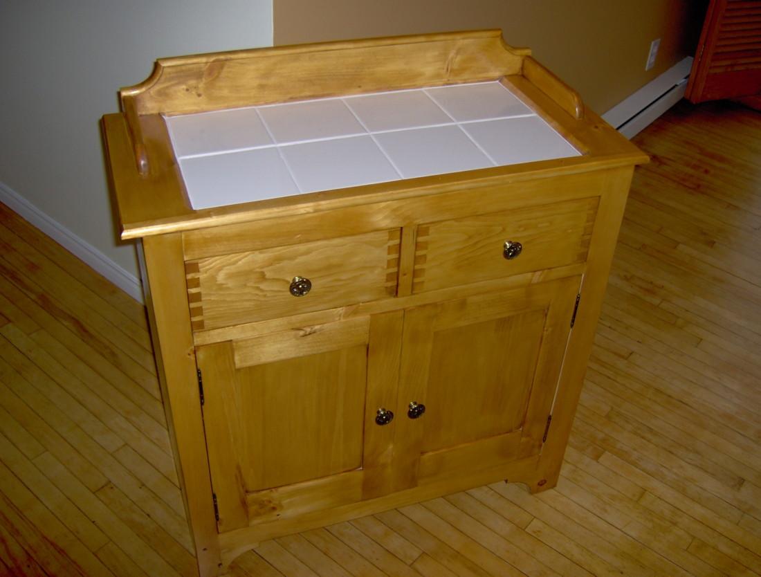 Dry-sink Vanity - FineWoodworking
