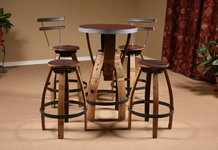 Wine barrel furniture finewoodworking for H furniture facebook