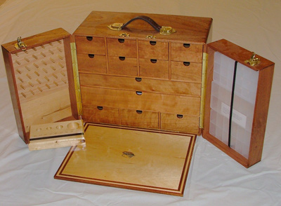 Fantastic Fly Tying Table And Cabinet  By Threehands  LumberJockscom
