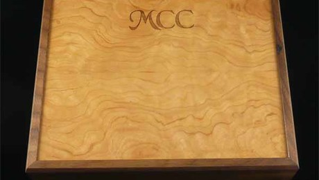 Memory Box Laser Engraved Top