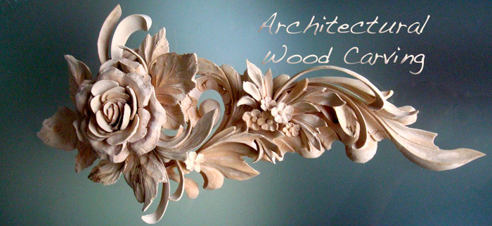 Architectural woodcarving by alexander grabovetskiy