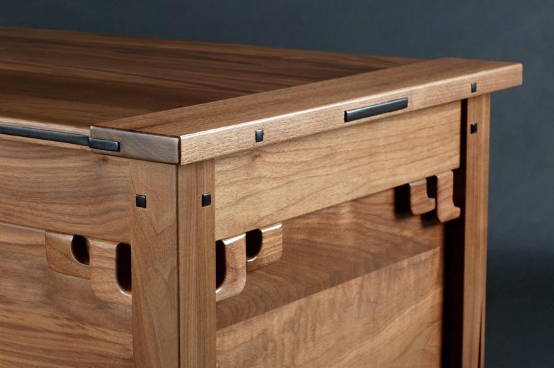 Greene and greene blanket chest finewoodworking for Greene and greene inspired furniture