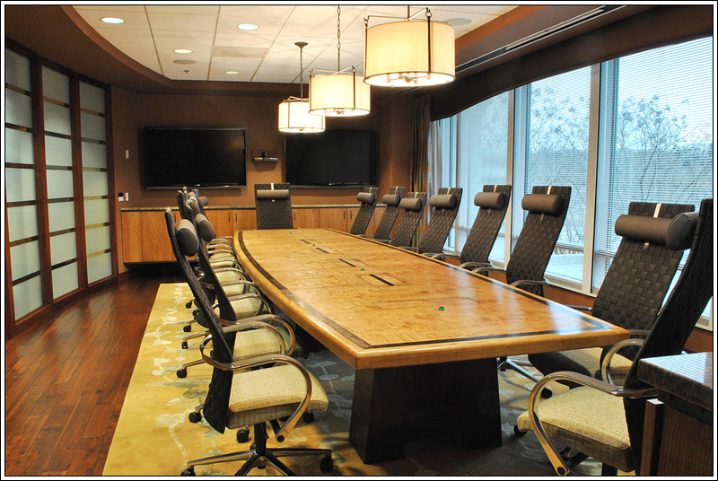 Custom Conference Table Design - FineWoodworking