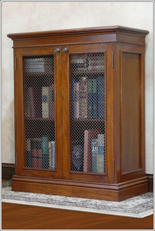 Traditional Solid Mahogany Bookcase Finewoodworking