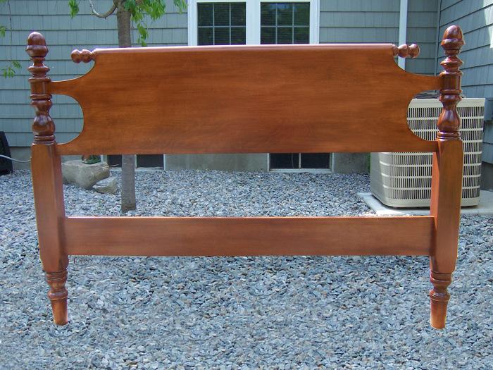 queen size maple headboard  finewoodworking, Headboard designs