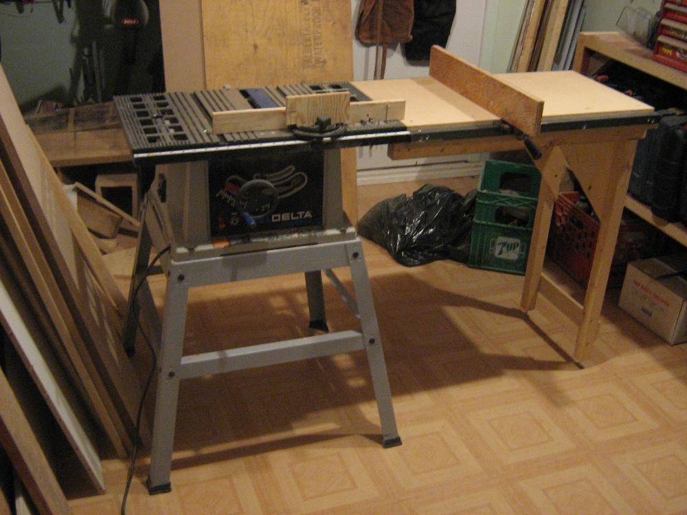 Table saw extension - FineWoodworking