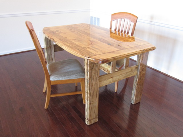 Ambrosia Spalted Maple Dining Table - FineWoodworking