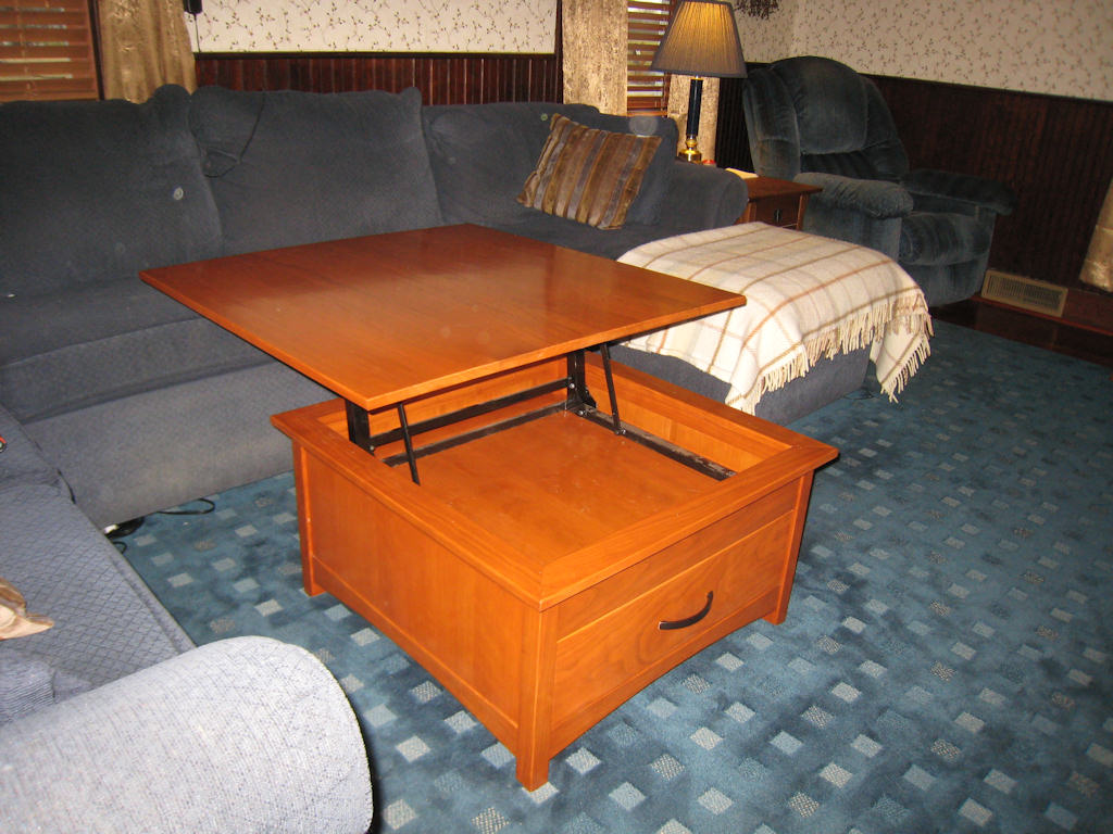 Lift Top Cherry Coffee Table Finewoodworking