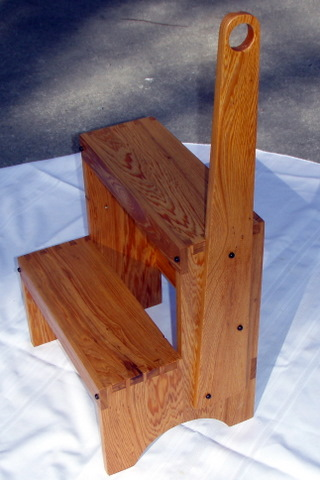 Shaker Step Stool Finewoodworking