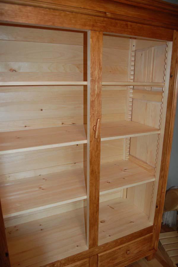 Grande armoire finewoodworking for Grande armoire noire