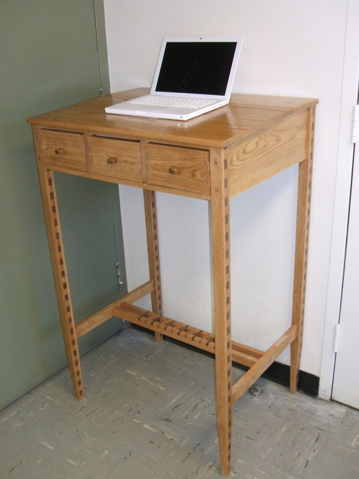 Simple Dining Chair And Desk With Live Edge  Timothy39s Fine