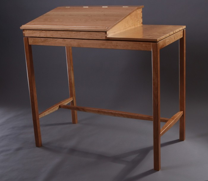 Awesome Mahogany Writing Desk  FineWoodworking