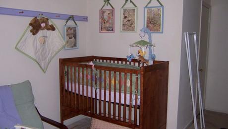 lovely crib for a lovely girl
