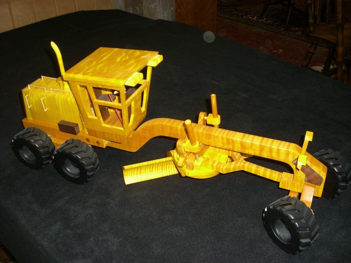Toys And Joys Lynden Wa : Road grader finewoodworking