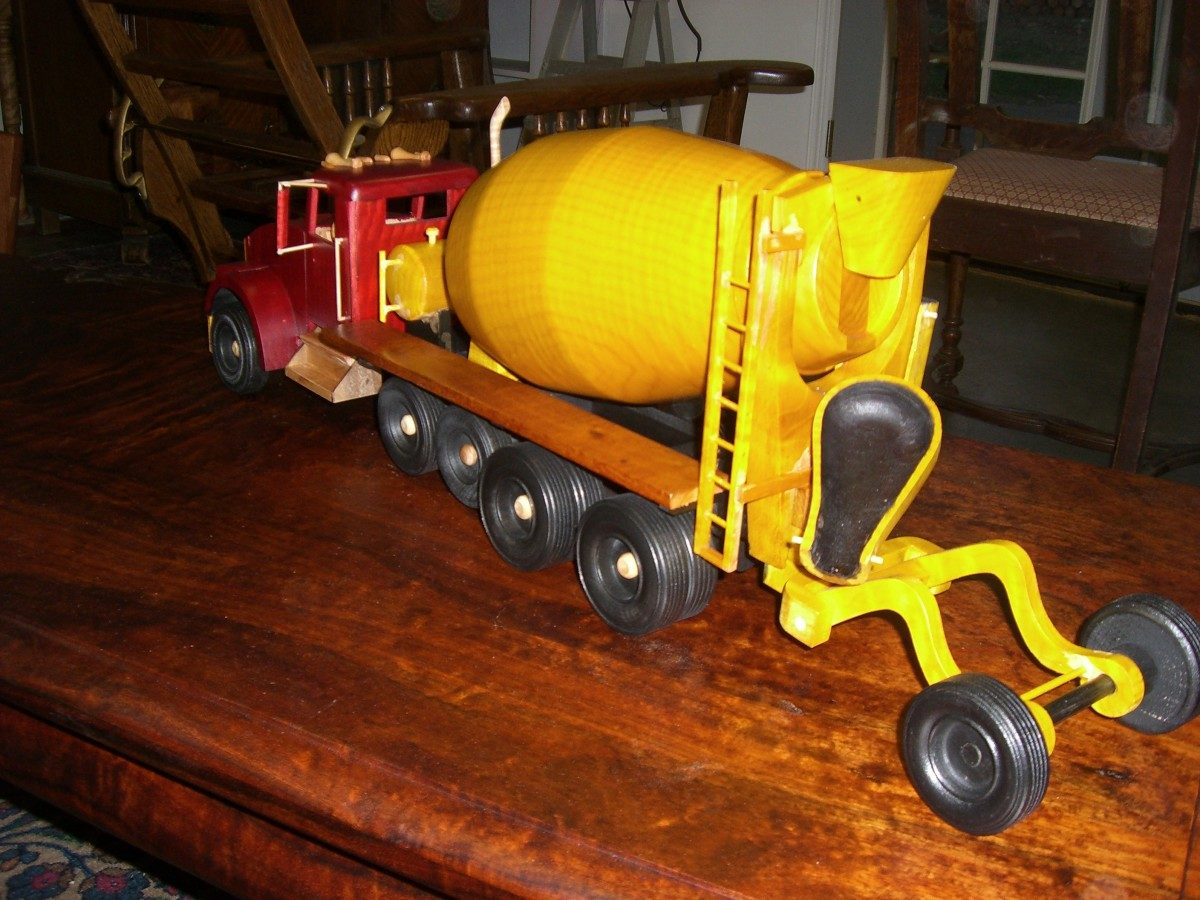 Toys And Joys Lynden Wa : Cement truck finewoodworking