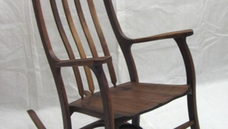 Black Walnut Rocking Chair - FineWoodworking