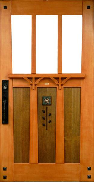& bungalow entrance door - FineWoodworking