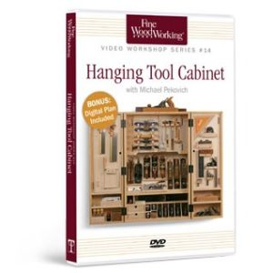 Build a hanging tool cabinet finewoodworking - Wood cabinet design software ...