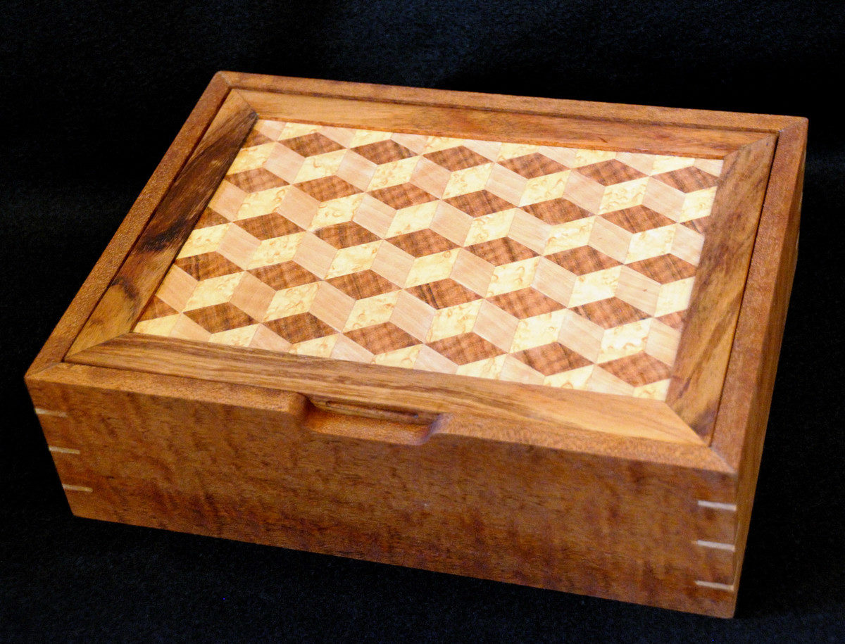 Marquetry Jewelry Box Finewoodworking