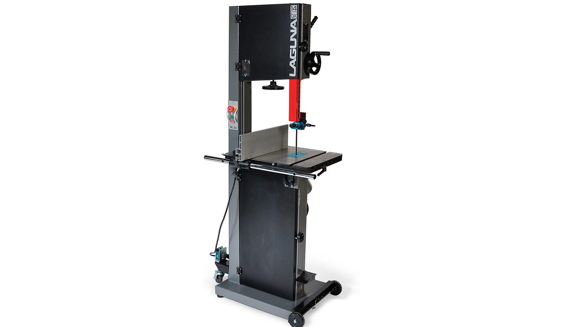 Laguna 14BX - 14-in bandsaw - FineWoodworking