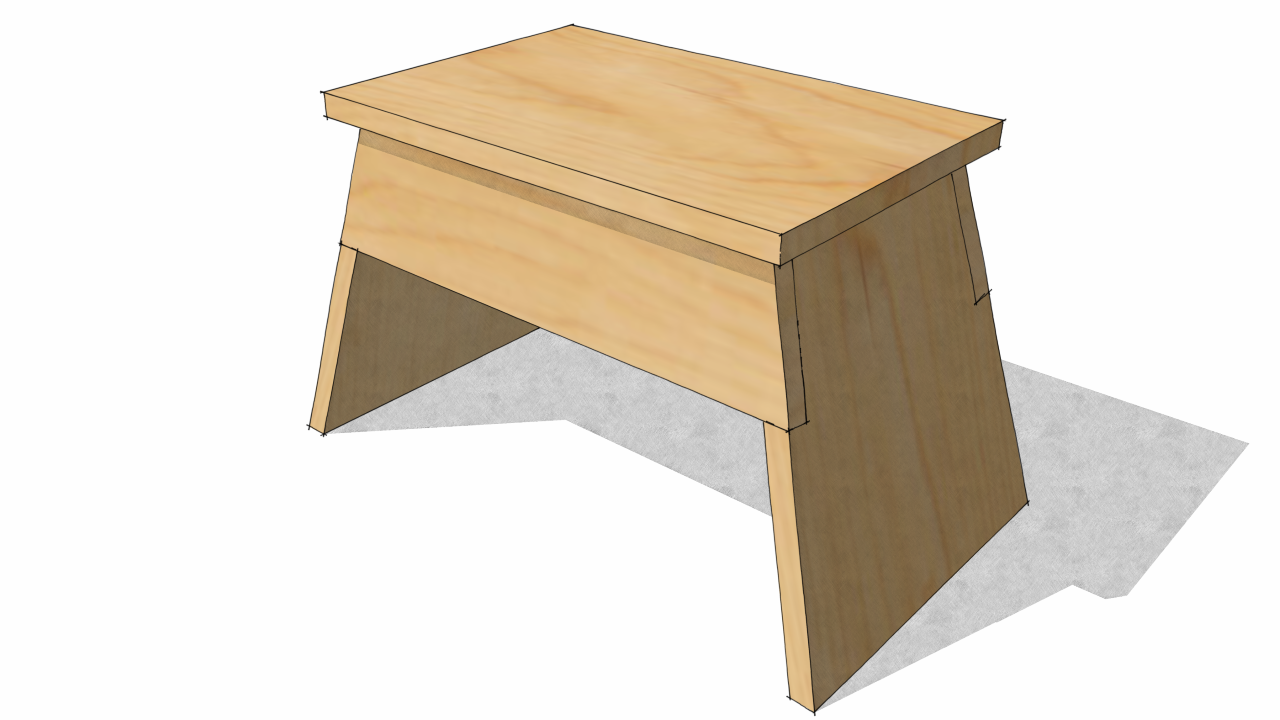 A Small Step Stool Working With Symmetry In Components