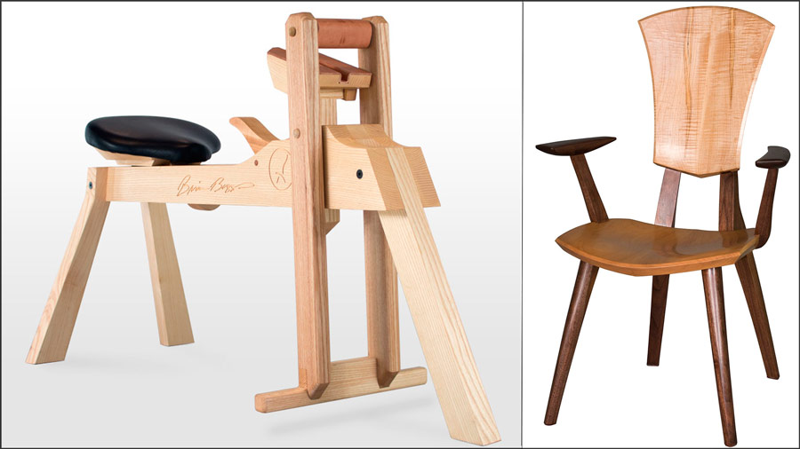 Brian Boggs' new shaving horse and Good Design Award