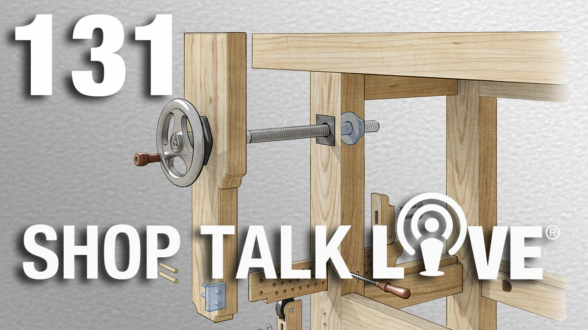 STL 131: Leg vise lowdown and favorite techniques - FineWoodworking