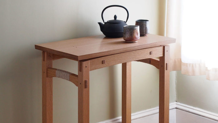 This Table Could Easily Serve As A Sewing Table, A Side Table, A Small  Writing Desk, Or Even A TV Tray. Itu0027s A Fast And Straightforward Project  With Some ...