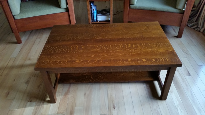 Mission Coffee Table FineWoodworking