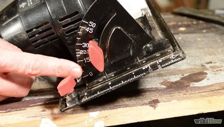 Circular saws are powerful but effective tools.