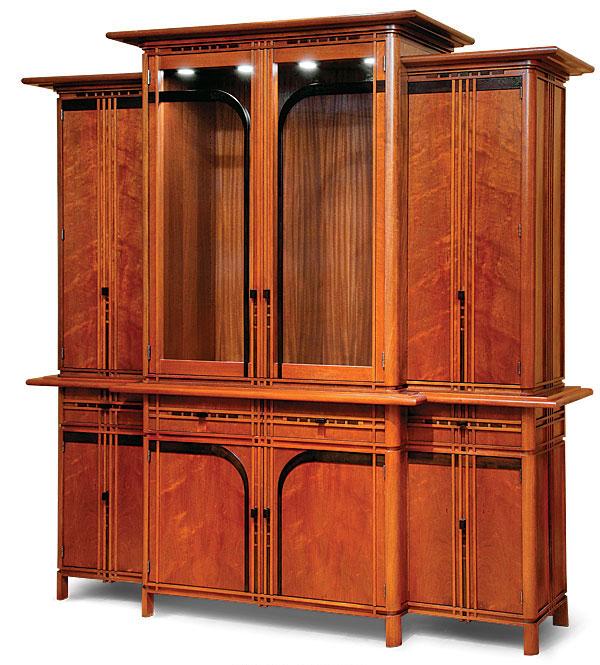 Bedroom Tv Cabinet Design Art Deco Style Bedroom Ideas Bedroom Fireplace Bedroom Design Styles: Art Deco China Cabinet