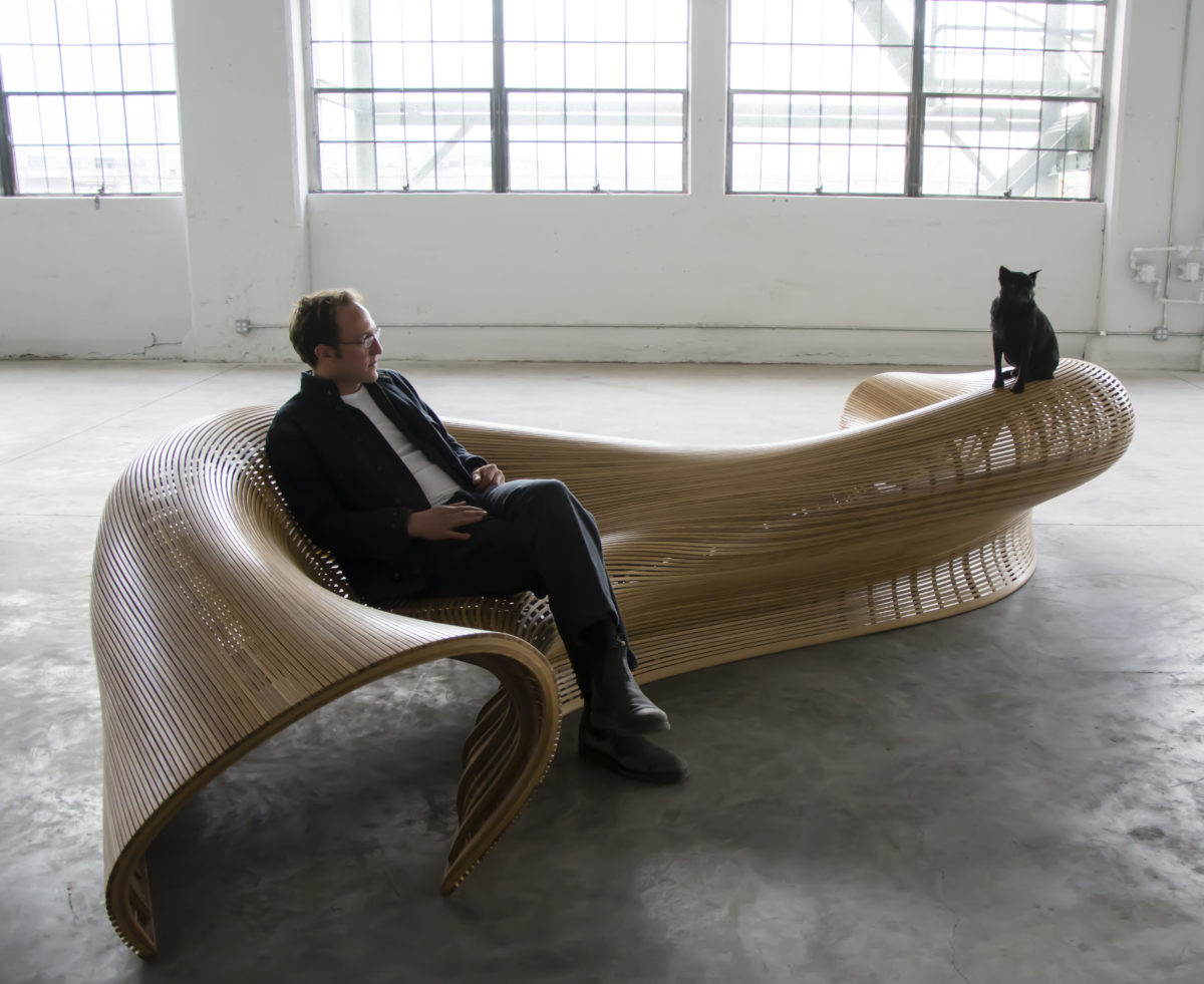 Motc Matthias Pliessnig Sinuous Seating Finewoodworking