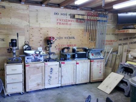 My Small Garage Shop