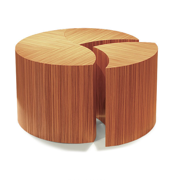 zebrawood coffee table - finewoodworking