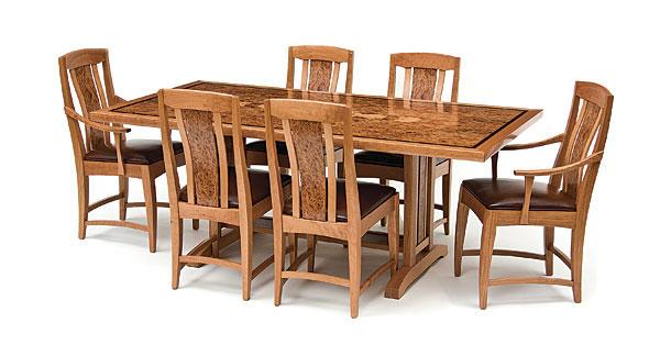 Woodworker Craig Thibodeau Designed This Dining Set