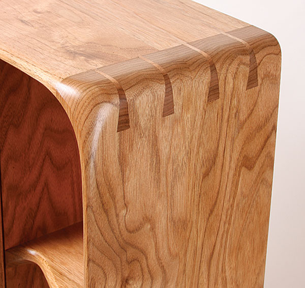 Bent Dovetail Cabinet - FineWoodworking