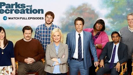 Parks & Recreation airs on NBC on Thursday nights at 9:30, right after The Office.