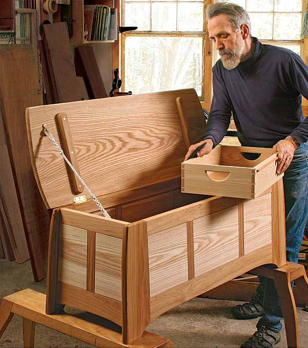 Have Your Blanket Chest Featured in an Upcoming Book - FineWoodworking