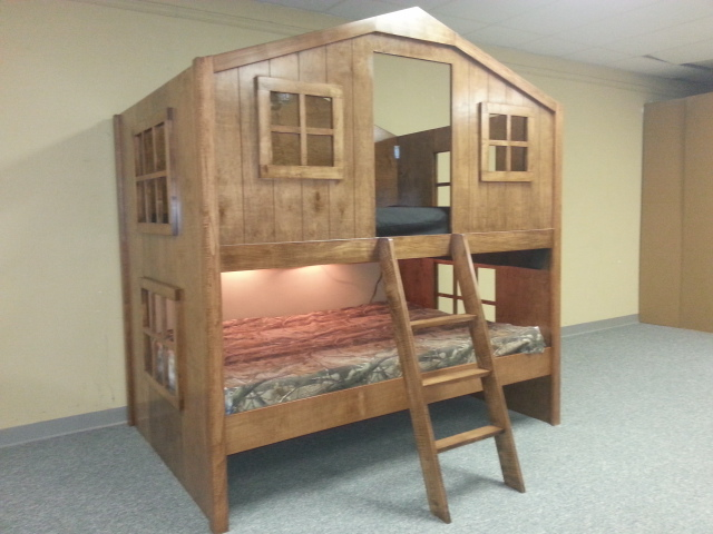 Full Size Fort Bunk - FineWoodworking