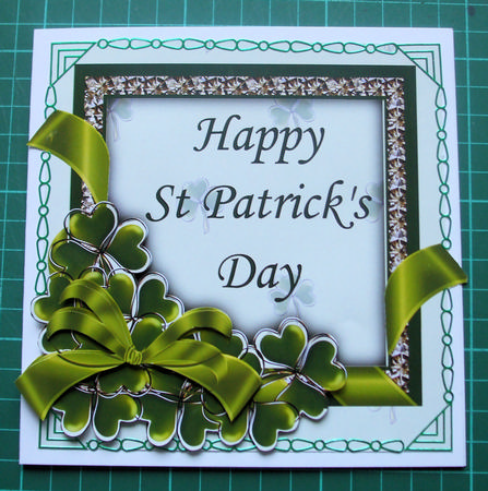 Card Gallery - St Patricks Day Step by Step